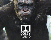 DOLBY. Audio experience website.