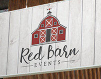 Red Barn Events Logo