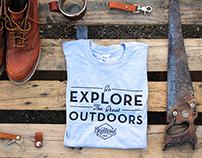 Bright wood Shirt Design