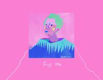 Fuji Me(illustrration,GIF,2015)