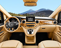 Mercedes-Benz V-Class Exclusive Interior