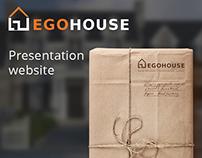 Ego-house website presentation construction company