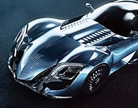 XC 03, supercar concept