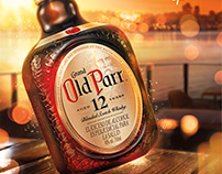 Old Parr . Labels
