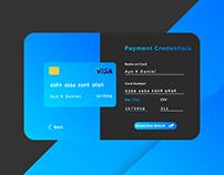 Dark Theme Payment UI Design