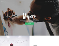 Poncho - Bootstrap One Pager Template by TemplateDeck