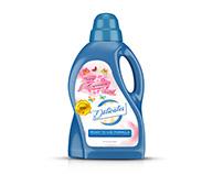 Labels design Delicates Detergent