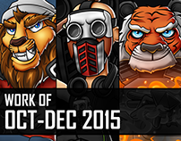 Work of October-December 2015