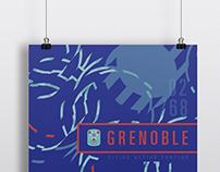 Grenoble Olympics Poster