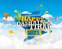 Dashain & Tihar Card