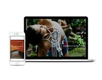 Responsive website - Yoga business