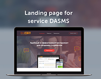 Landing page for service DASMS