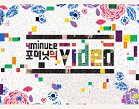4 Minute's ' VIDEO ' TV Opener Broadcast Design