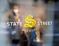 State Street Barbers Branding