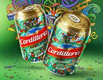 Cerveza Cordillera - DISEÑO DE LATA CARNAVALERA 2019