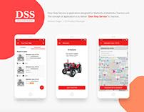 DSS Mahindra | UX & Product Design