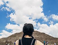 TARA BROOKS visiting the pyramids
