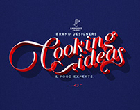 Cooking Ideas Lettering