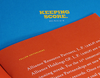 Alliance Annual Report 2011