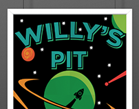 Willy's Pit (Poster Design)