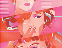 'The Molly Ringwald Trilogy' Art Print
