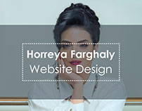 Horreya Farghaly Website Design