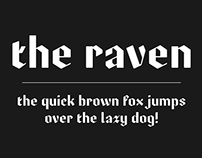 The Raven - Typeface