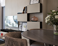 NJ - Simple living room