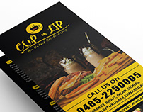 CUP N LIP | MENU DESIGN