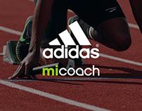Adidas miCoach Dashboard Design