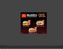 Banner Animado / McDonald's