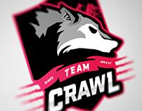 Team Crawl E-sports Logo