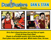 Dustbusters Dan&Stan Flyer