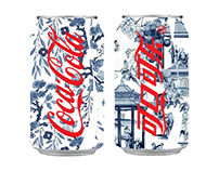 Coca Cola : Chinese New Year Can Design