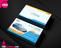 Free Rent A Car Business Card Template