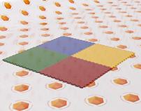 PVC Floor 3D Model
