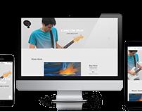 Singer/Songwriter - Dennis Vella | Wordpress Website +
