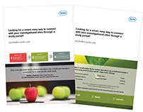 Roche - MyStudies promotional collateral