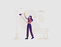 Traveler Illustration 01