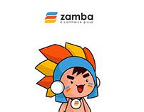 Zamba Mascot