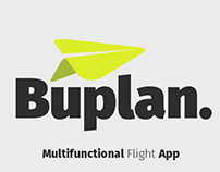 Buplan - Multifunctional Flight App - UI&UX Design
