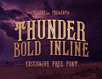 Thunder Bold Inline - FREE Font Deeezy