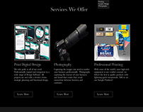 Morpheus Website Mockup