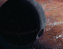 Death Star (Rogue One pixel art)