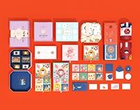 上海 《爱哆哆》品牌&系列产品包装设计