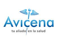 AVICENA logo study