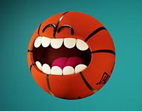 Basket Ball - 3D animation