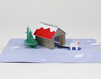 Holiday Pop-Up Card