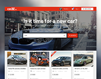 Carzz: Vehicle Marketplace Website