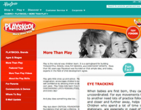 Playskool: More Than Play, Content Strategy & Copy